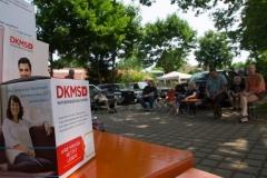 Die Spenden gehen zu 100% an die DKMS