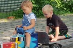 Unser Mini Angel mit Nick, Bens Bruder