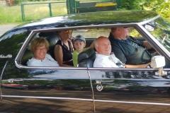 Ein toller Tag für eine entspannte Fahrt im Cadillac
